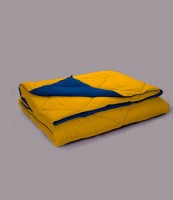 Stoa Paris Solid King Comforter (Yellow)