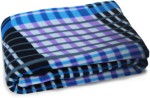 Story @ Home Story @ Home Checkered Double Blanket Black