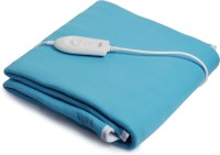 Expressions Plain Single Electric Blanket Blue, Electric Bed Warmer