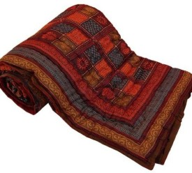 Rangasthali Checkered Double Quilts & Comforters Multicolor