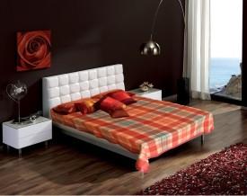 Raymond Checkered Single Blanket Orange