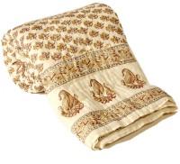 Little India Jaipuri Ethnic Print Cotton Single Bed Quilt 323 Modern Ethnic Quilt Single