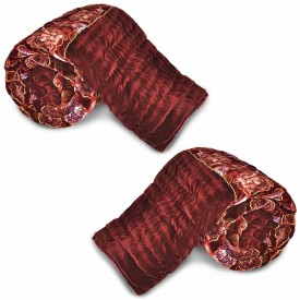 Indian Gift Emporium Floral Double Quilts & Comforters Maroon