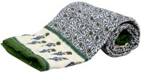 Krg Enterprises Floral Single Blanket Multicolor Jaipuri Quilt Single Bed Razai - BLAEDNYHANRTVZJT