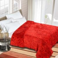 Home Originals Floral Double Coral Blanket Red Floral - BLAEBPB5WPHH4ZTE