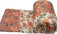 Rangasthali Traditional Mughal Design Jaipuri Bed Printed Double Blanket (100% Cotton)
