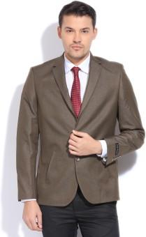 John Players Solid Formal Men's Blazer
