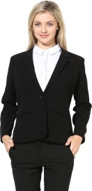 Martini Solid Single Breasted Formal Women's Blazer