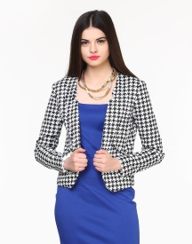 FabAlley Solid Single Breasted Formal Women's Blazer