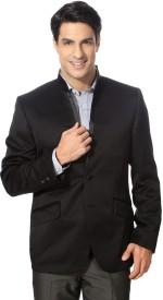 Van Heusen Solid Double Breasted Formal Men's Blazer