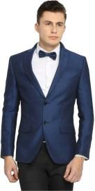 BREGEO FASHION Solid Single Breasted Wedding, Casual, Party, Formal, Festive, Lounge Wear, Sports Men's Blazer