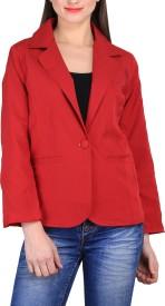 Sierra Solid Tuxedo Style Casual Women's Blazer