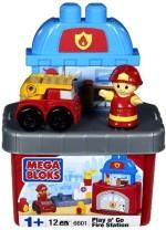 Mega Bloks Blocks & Building Sets Mega Bloks Play n Go Fire Station