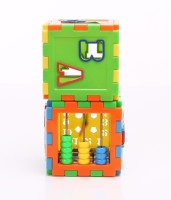 New Pinch Play And Learn All In One Cubes Game For Kids (Multicolor)