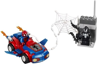 Lego Blocks & Building Sets Lego Juniors Spider Man Spider Car Pursuit