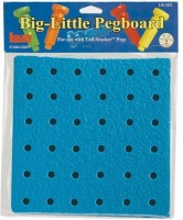 Patch Products Inc. Patch Products 2422 Big Little Pegboard 8 In (Blue)