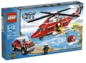 Lego City Fire Helicopter 7206 - Multicolor