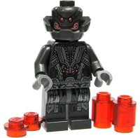 LEGO Marvel Super Heroes Loose Ultron Prime Minifigure [Loose] (Multicolor)