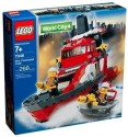 Lego City Fire Rescue Fire Command Craft 7046 - Red, Black, Yellow