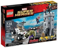 Marvel LEGO Super Heroes Avengers The Hydra Fortress Smash Set #76041 (Multicolor)