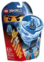 LEGO Ninjago Airjitzu Jay Flyer 70740 Building Kit (Multicolor)