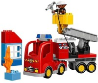 Lego Emergency Fire Truck (Multicolor)