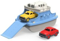 Green Toys Green Toys Ferry Boat With Mini Cars Bathtub Toy, Blue/White (Multicolor)