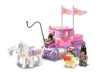 Sluban Girl's Dream The Royal Carriage 137 Piece Building Block Set (Multicolor)
