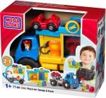 Mega Bloks Blocks & Building Sets Mega Bloks Play n Go Garage & Truck