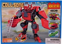 Mera Toy Shop Robot Construction Set -188 Pcs (Multicolor)