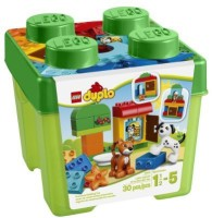 LEGO DUPLO Creative Play 10570 All-in-One-Gift-Set (Multicolor)