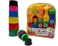 V.T. Playground Blocks With Stacking Tower (Multicolor)