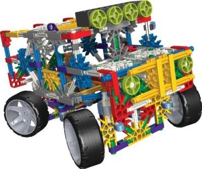 K'Nex Classics 4 Wheel Drive Truck, 313 Pieces (Multicolor)