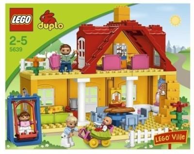 Buy Lego Duplo Ville Family House 5639 On Flipkart Paisawapascom