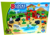 Taaza Garam Blocks Paradise Construction Set For Kids (Multicolor)
