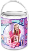 CitiBlocs 110-Piece Pretty In Pink Doll House Set (Multicolor)