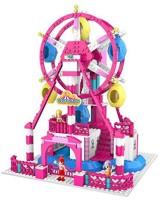ZTrend Wonderland Deluxe Ferris Wheel Geared Motion Building Set (Pink)