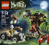 Lego Monster Fighters 9463 The Werewolf (Multicolor)