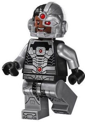 Lego Blocks & Building Sets Lego Super Heroes Dc Universe Justice League Minifigure Cyborg