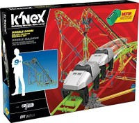 K'Nex Double Doom Roller Coaster Building Set (Multicolor)