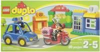 Duplo LEGO Ville 10532 My First Police Set (Multicolor)