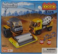 Toy Mall Cogo Engineering Block Set-3721 (Multicolor)