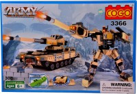 Mera Toy Shop Robot Construction Set -308 Pcs (Multicolor)