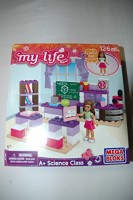 Mega Bloks My Life As A+ Science Class Mega (Multicolor)