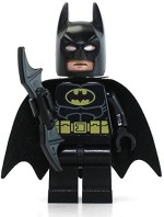 Lego Blocks & Building Sets Lego Super Heroes Dc Universe Black Batman Minifigure With Batarang