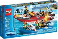 LEGO City Set Fire Boat (Multicolor)