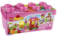 LEGO DUPLO Creative Play 10571 All-in-One-Pink-Box-of-Fun (Multicolor)
