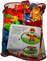 Darling Toys 60Pcs Multi Color Builing Block Set For Kids (Multicolor)
