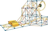 K'Nex Hyperspeed Hangtime Roller Coaster Building Set (Multicolor)