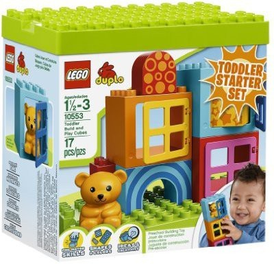 Lego Blocks & Building Sets Lego Duplo Toddler Build and Play Cubes